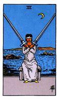 Dos de espadas
