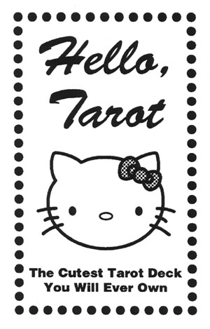 Hello Tarot, portada de la caja