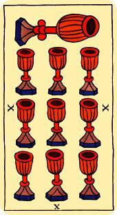 Diez de copas