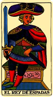 Rey de espadas