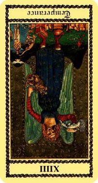 XIV - La Templanza, invertido.